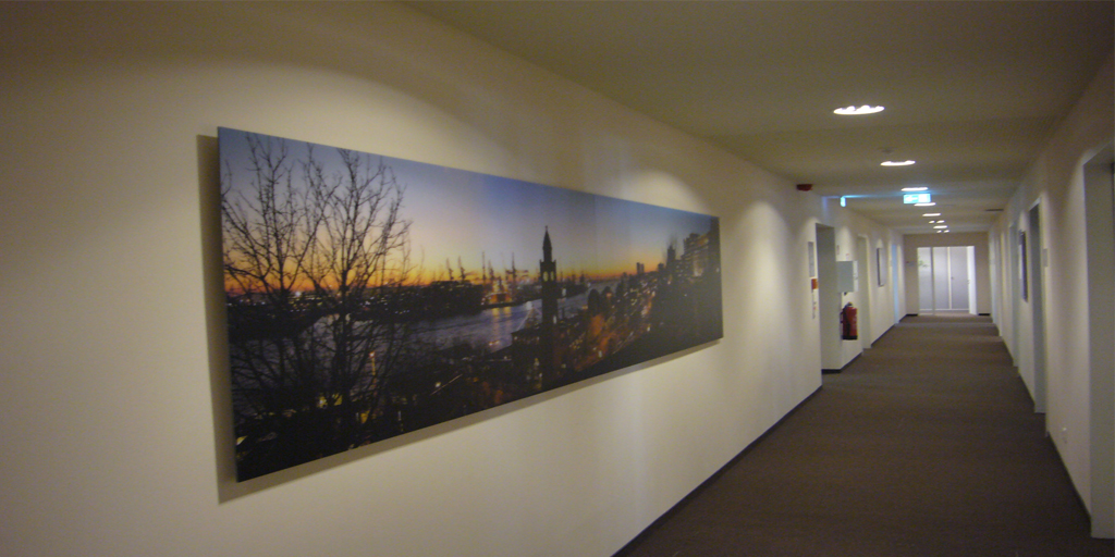 Panoramadruck Hamburg