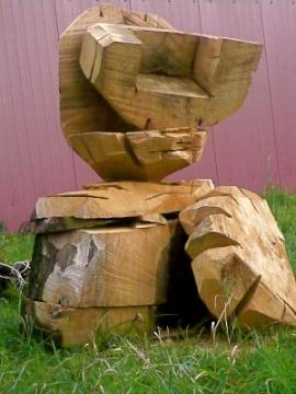 Skulptur des Bildhauers Hans Hushan