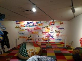 Wortkunst von Rupprecht Matthies im Denver Art Museum