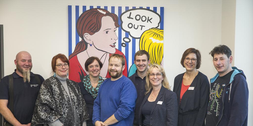 Team identity of art - Mitarbeiter, Künstler, Monteure
